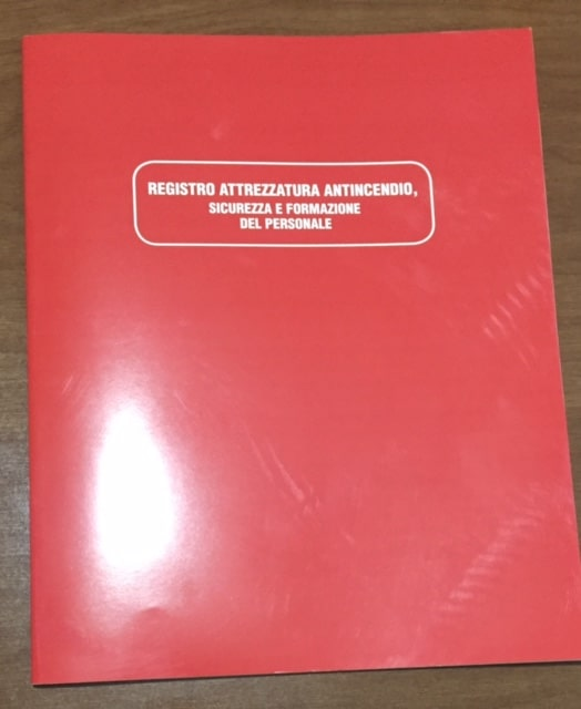 libro registro antincendio