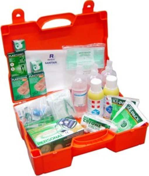 Cassette e kit di primo soccorso