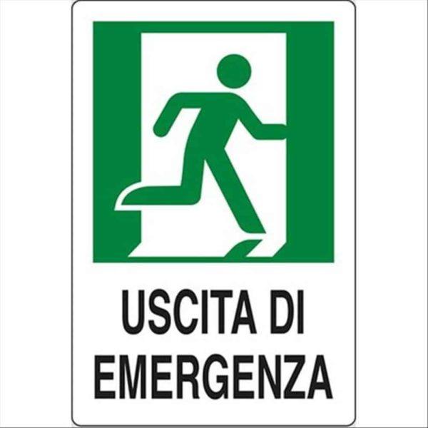 Cartello uscita emergenza