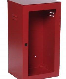 cassetta porta estintore da 6 kg in acciaio senza lastra
