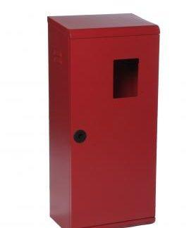 cassetta porta estintore da 6 kg in acciaio