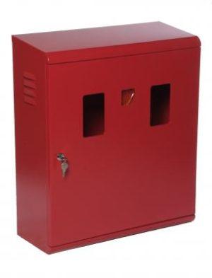 cassetta porta estintore da 6 kg in acciaio doppia