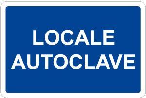 cartello locale autoclave