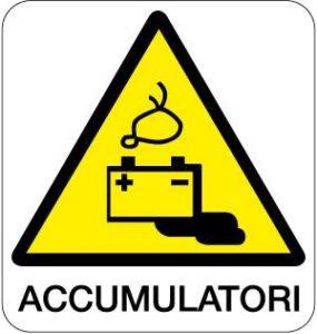 cartello accumulatori