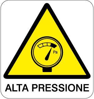cartello alta pressione