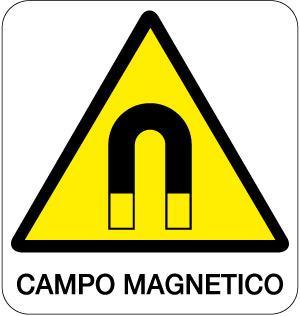 cartello campo magnetico