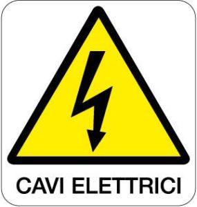 cartello cavi elettrici
