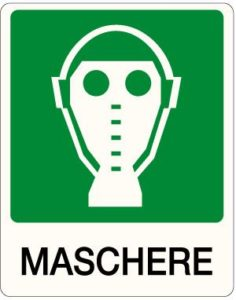 cartello maschere