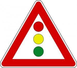 cartello semaforo verticale