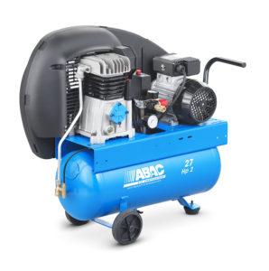 compressore aria 27 litri abac