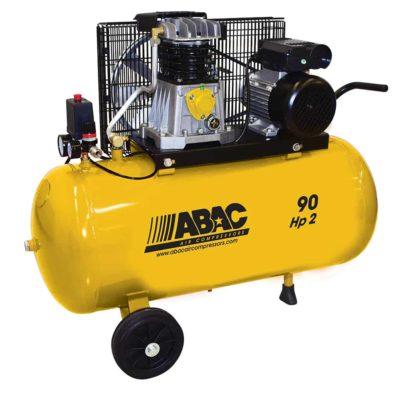compressore aria 90 litri 2hp