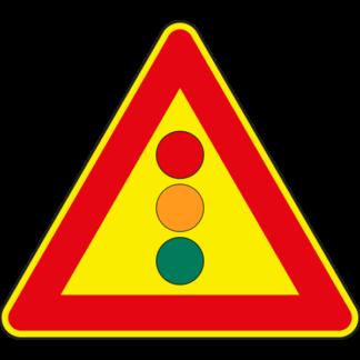 cartello preavviso semaforo temporaneo