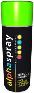 spray vernice fluorescente