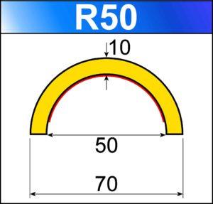 profilo flessibile di sicurezza R50