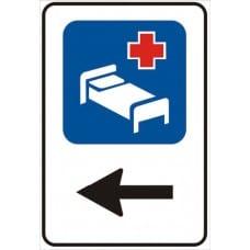 cartello indicazione ospedale