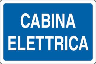 cartello cabina elettrica