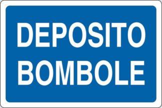 cartello deposito bombole