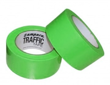 Nastro adesivo traffic tape verde