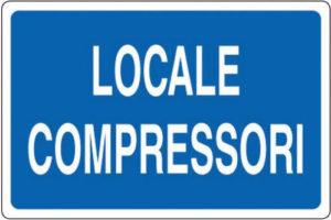 cartello locali compressori