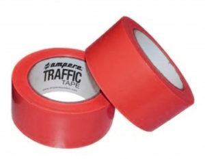 nastro adesivo traffic tape rosso