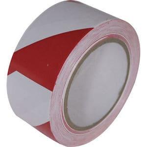 nastro adesivo traffic tape bianco rosso