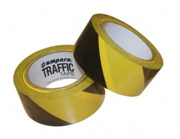 nastro adesivo traffic tape giallo nero
