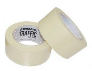 Nastro adesivo traffic tape bianco