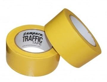nastro adesivo traffic tape giallo